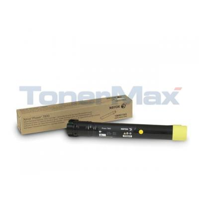 XEROX PHASER 7800 TONER CARTRIDGE YELLOW